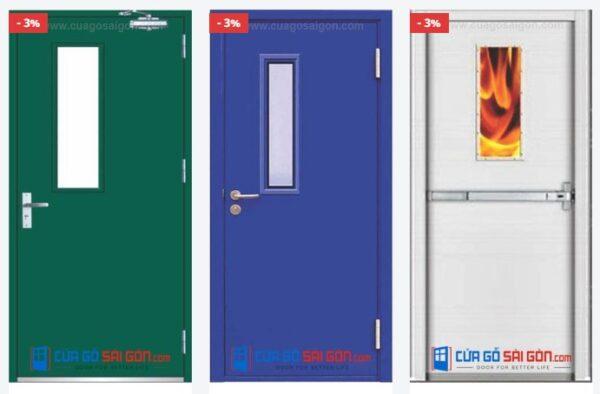Cửa thép chống cháy là gì? Cấu tạo cửa thép chống cháy